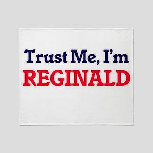 Trust Me, I'm Reginald Throw Blanket