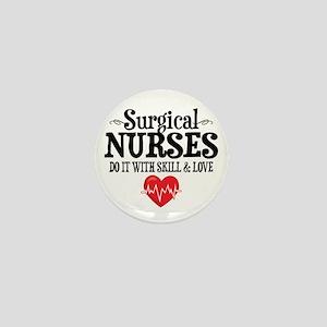 Surgical Nurse Mini Button
