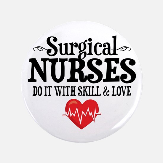 Surgical Nurse Button