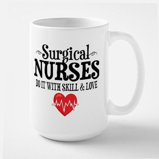 Surgical Nurse Large Mug