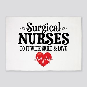 Surgical Nurse 5'x7'Area Rug