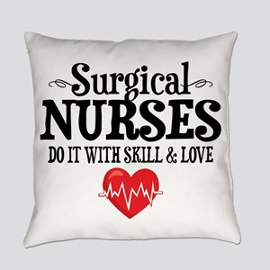Surgical Nurse Everyday Pillow