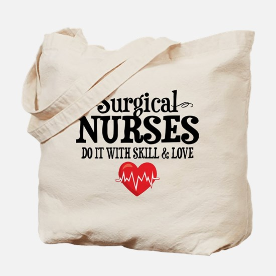 Surgical Nurse Tote Bag