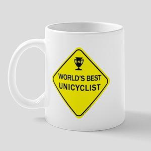 Unicyclist Mug