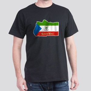 Cool Equatorial Guinea Dark T-Shirt