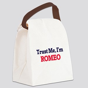 Trust Me, I'm Romeo Canvas Lunch Bag