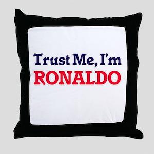 Trust Me, I'm Ronaldo Throw Pillow