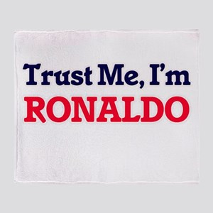 Trust Me, I'm Ronaldo Throw Blanket