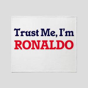 Trust Me, I'm Ronaldo Throw Blanket