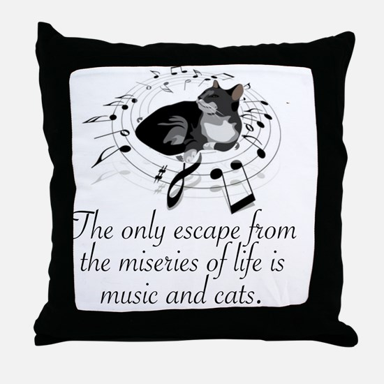 Cute Misery Throw Pillow