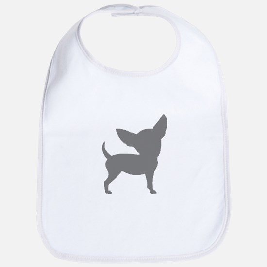 Chihuahua Two Gray 1 Bib