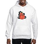 Black Cat w/Pumpkin 3 Hooded Sweatshirt