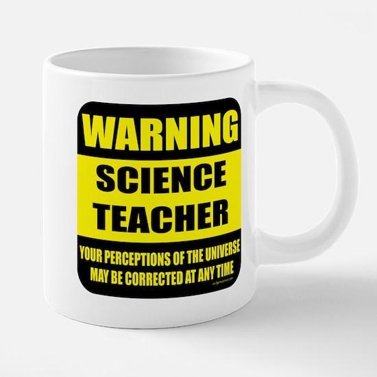 Warning science teacher Mugs