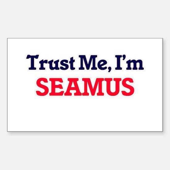 Trust Me, I'm Seamus Decal