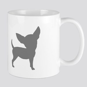 Chihuahua Two Gray 2 Mugs