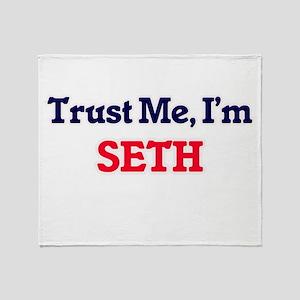 Trust Me, I'm Seth Throw Blanket