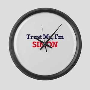 Trust Me, I'm Simon Large Wall Clock