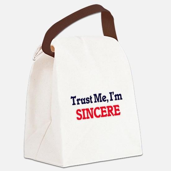 Trust Me, I'm Sincere Canvas Lunch Bag