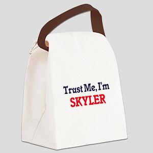 Trust Me, I'm Skyler Canvas Lunch Bag