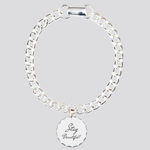 Gifts for Her Stay Beaut Charm Bracelet, One Charm