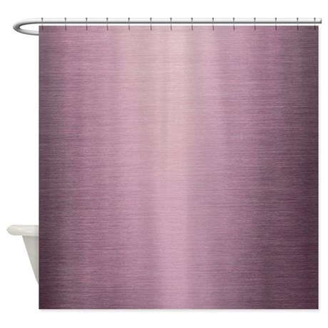 Purple Ombre Shower Curtain