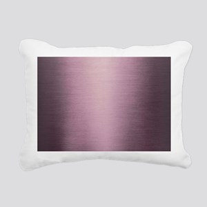 Purple Ombre Rectangular Canvas Pillow
