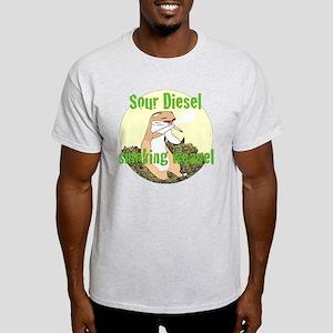 sour diesel smoking weasel T-Shirt