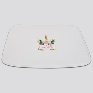 sleeping unicorn personalize Bathmat