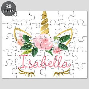 sleeping unicorn personalize Puzzle