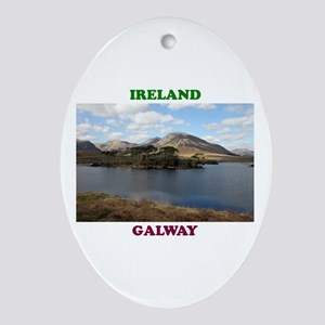 Island Trees Oval Ornament