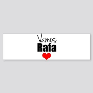 Vamos Rafa Love Bumper Sticker