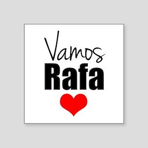 Vamos Rafa Love Sticker