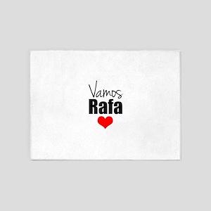 Vamos Rafa Love 5'x7'Area Rug
