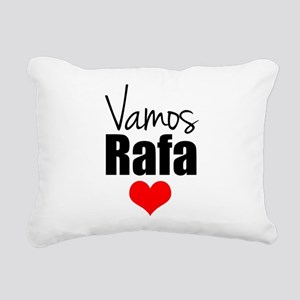 Vamos Rafa Love Rectangular Canvas Pillow