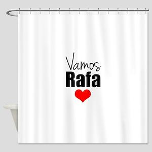 Vamos Rafa Love Shower Curtain