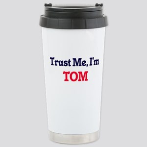 Trust Me, I'm Tom Stainless Steel Travel Mug