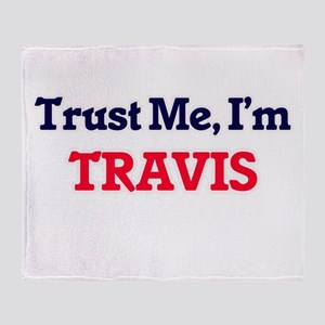 Trust Me, I'm Travis Throw Blanket