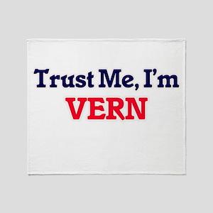 Trust Me, I'm Vern Throw Blanket