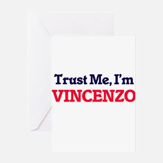 Trust Me, I'm Vincenzo Greeting Cards