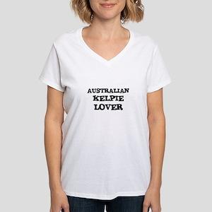 AUSTRALIAN KELPIE LOVER Women's Cap Sleeve T-Shirt
