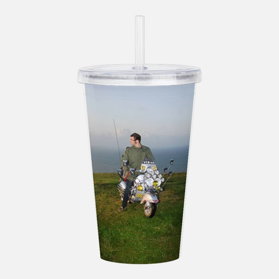 PRETTY GREEN , MODS Acrylic Double-wall Tumbler