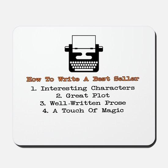Write A Best Seller Mousepad