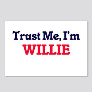 Trust Me, I'm Willie Postcards (Package of 8)