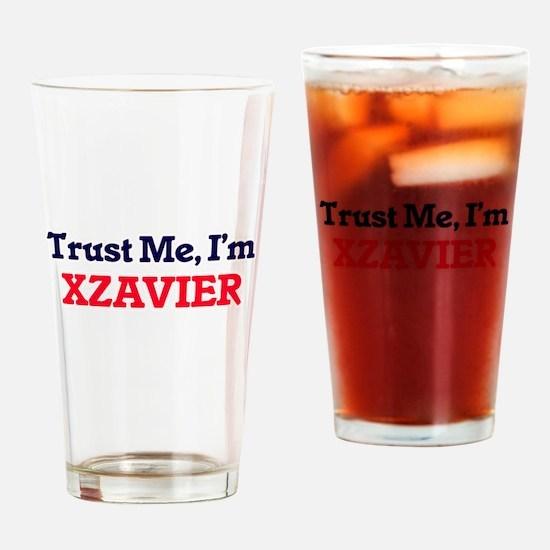Trust Me, I'm Xzavier Drinking Glass