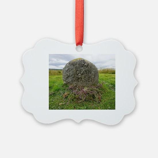 Cute Clan fraser Ornament