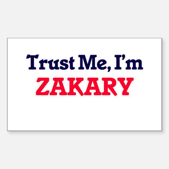 Trust Me, I'm Zakary Decal