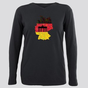 Germany Plus Size Long Sleeve Tee