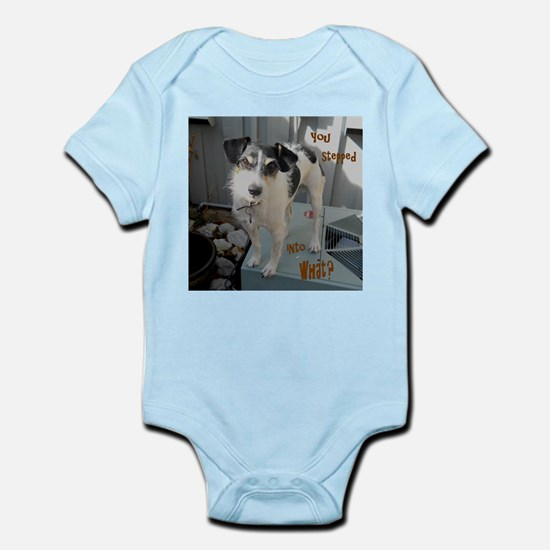 Stepped Into Infant Bodysuit