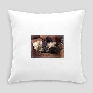 Audrey Cairn Terrier Bat Hybrid Everyday Pillow