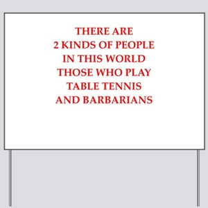 barbarian gifts and t-shirts Yard Sign